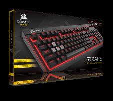 Žaidimų klaviatūra Corsair Strafe Mechanical Cherry MX Brown