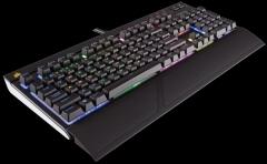 Žaidimų klaviatūra Corsair Strafe RGB Mechanical Cherry MX Brown EU