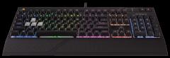 Žaidimų klaviatūra Corsair Strafe RGB Mechanical Cherry MX Red