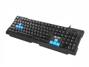 Žaidimų klaviatūra Fury HORNET, US layout, Juoda, USB