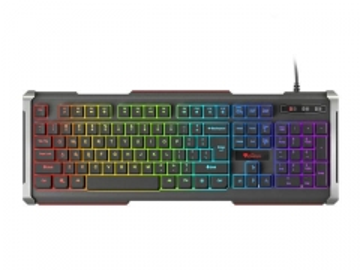 Žaidimų klaviatūra GENESIS RHOD 400, RGB apšvietimas, US layout, USB