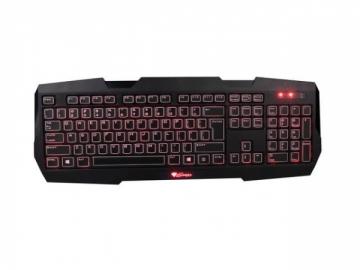 Žaidimų klaviatūra GENESIS RX22, apšvietimas, Spanish layout, USB
