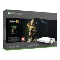 Žaidimų konsolė Microsoft Xbox One X 1TB + Fallout 76 Žaidimų konsolės ir priedai