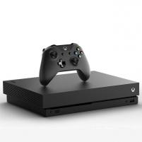 Žaidimų konsolė Microsoft Xbox One X 1TB black Žaidimų konsolės ir priedai