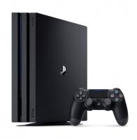 Žaidimų konsolė Sony Playstation 4 PRO 1TB (PS4) BLACK Žaidimų konsolės ir priedai