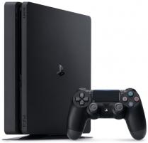 Žaidimų konsolė Sony Playstation 4 Slim 1TB (PS4) Black Žaidimų konsolės ir priedai