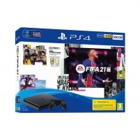 Žaidimų konsolė Sony Playstation 4 Slim 500GB (PS4) Black + FIFA 21