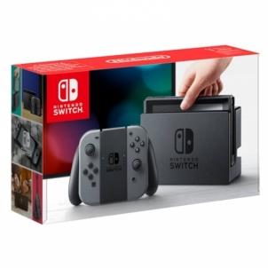 Žaidimų konsolė Switch Console with Grey Joy con Žaidimų konsolės ir priedai