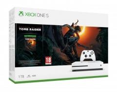 Žaidimų konsolė Xbox One S 1TB + Shadow of the Tomb Raider Žaidimų konsolės ir priedai