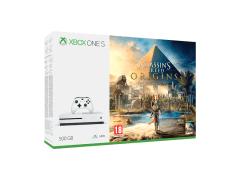Žaidimų konsolė Xbox One S 500GB + Assasins Creed: Origins AFTER REPAIR Žaidimų konsolės ir priedai