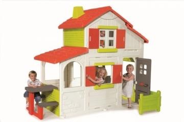 Žaidimų namelis, dviejų aukštų Smoby 7600320023 Rotaļu laukumi