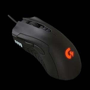 Žaidimų pelė Gigabyte XM300 6400DPI, Juoda