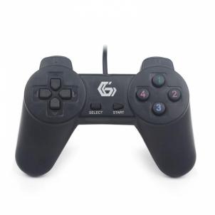 Žaidimų pultelis Gembird PC USB gamepad JPD-UB-01 Žaidimų konsolės ir priedai