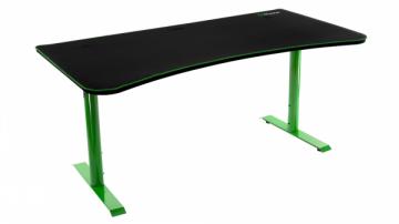 Žaidimų stalas Arozzi Arena Gaming Desk - Green Rašomieji stalai
