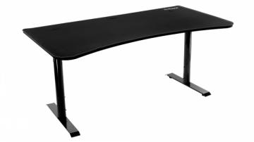 Žaidimų stalas Arozzi Arena Gaming Desk - Pure Black Rašomieji stalai