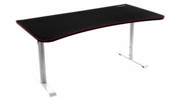 Žaidimų stalas Arozzi Arena Gaming Desk - White Rašomieji stalai