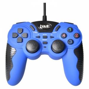 Žaidimų vairalazdė HV-G82 PS2/3 Blue Žaidimų konsolės ir priedai
