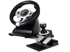 Žaidimų valdiklis- vairas Stheering wheel Tracer Roadster 4 in 1 PC/PS3/PS4/Xone Žaidimų konsolės ir priedai