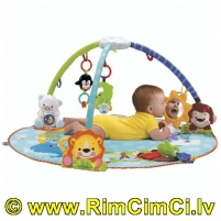 Žaidybinis kilimėlis FISHER PRICE N8850 Precious Planet Deluxe Musical Activity Gym Citas preces mazuļiem