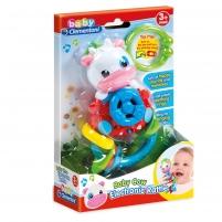 Žaislas Muzikālais grabulis - Govs Žaislai kūdikiams
