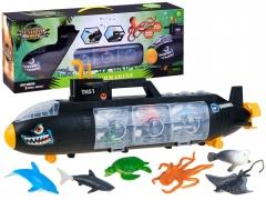 Žaislas povandeninis laivas ir figūrėlės Kuģu un laivu bērniem