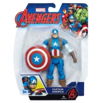 Žaislinė figurėlė C0652 Hasbro Marvel Avengers Captain America 6-In Basic Action Figure