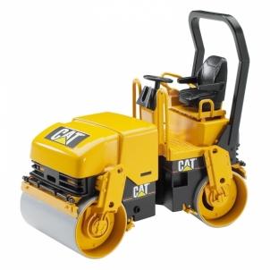 Žaislinė transporto priemonė CAT Asphalt drum compactor