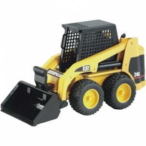 Žaislinė transporto priemonė CAT Skid steer loader