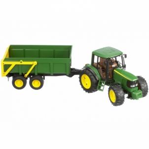 Žaislinė transporto priemonė John Deere 6920 with tipping trailer