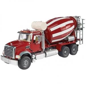 Žaislinė transporto priemonė MACK Granite Cement mixer