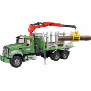 Žaislinė transporto priemonė Mack Granite Timber truck