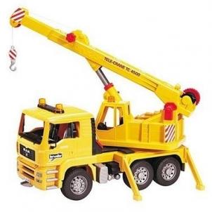 Žaislinė transporto priemonė MAN Crane truck