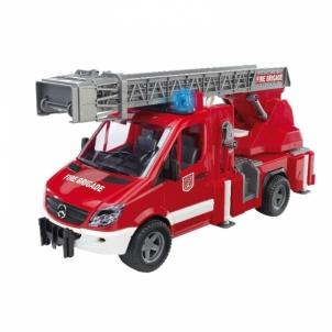 Žaislinė transporto priemonė MB Sprinter fire engine with ladder,waterpum