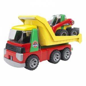 Žaislinė transporto priemonė ROADMAX truck+excavator