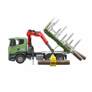 Žaislinė transporto priemonė Scania metsaveo masin