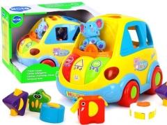 Žaisliniai SMART BUS-out blokai ZA0017 DF Muzikālā rotaļlietas
