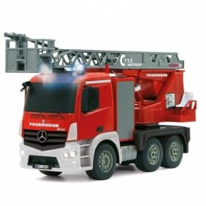 Žaislinis automobilis Fire Engine 1:20 Mercedes Antos 2.4GHz RC automobiliai vaikams