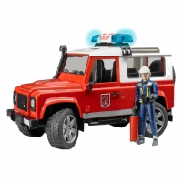Žaislinis automobilis Land Rover firefighting sound and light