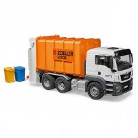 Žaislinis automobilis Man TGS Rear loading garbage truck