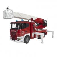 Žaislinis automobilis Scania R-ser.Fire engine with waterpump