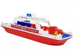 Žaislinis keltas su automobiliukais Ships and boats for kids