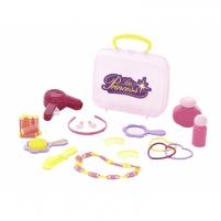 Žaislinis plaukų priežiūros rinkinys lagamine   Little Princess   Wader