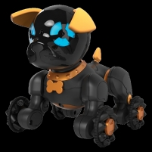 Žaislinis robotas Chippo Black Robots toys