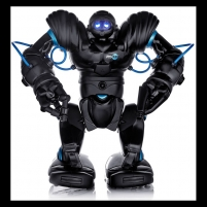 Žaislinis robotas Robosapien Blue Robots toys