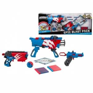 Žaislinis šautuvas su šoviniais ir taikiniu Набор BOOMco BCR97