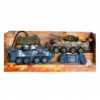 Žaislinis tankas 27Mhz&40Mhz R/C Against Armored Vehicles(two pack)
