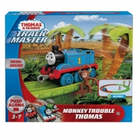 Žaislinis traukinys GJX83 Thomas & Friends Trackmaster Monkey Trouble Thomas