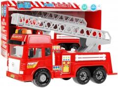 Žaislinis ugniagesių automobilis