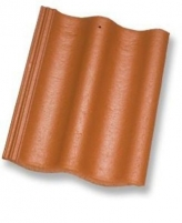 ZANDA PROTEKTOR 2,0, Concrete roof tile, (Clay Red) Concrete roof tiles