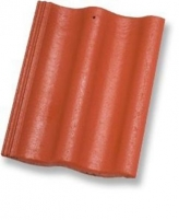 ZANDA PROTEKTOR 2,0, Concrete roof tile, (Red) Concrete roof tiles